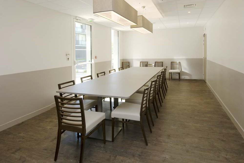 Un espace dédié à vos repas de famille