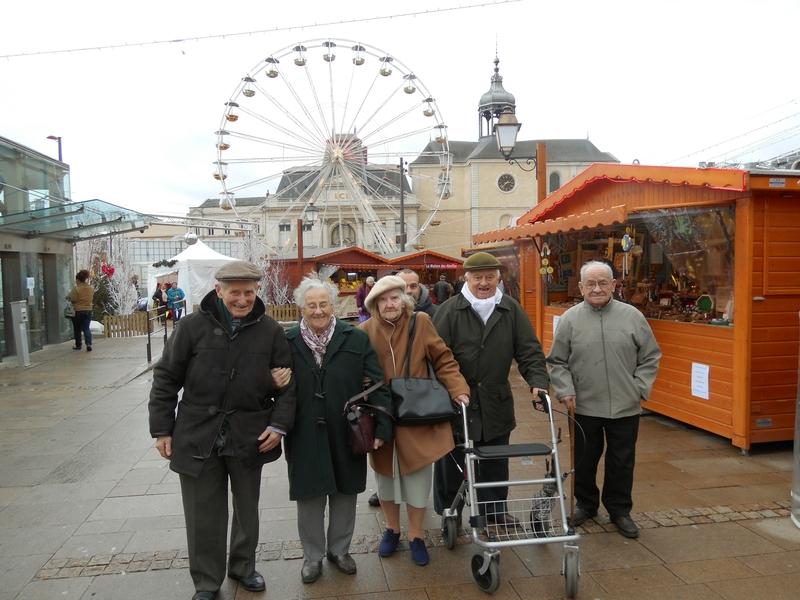 Visite du marché de Noël au Mans