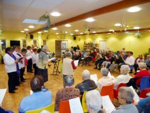 Chants de Noël par la chorale de Cherré