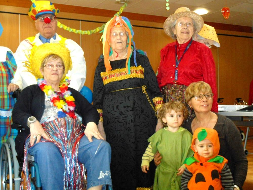 Le Carnaval au Clos de la Bade à Précigné