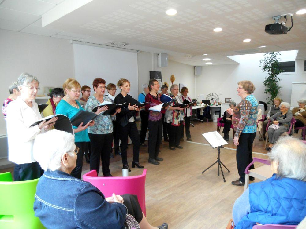 La chorale Fasila s'est produite au Petit Jardin