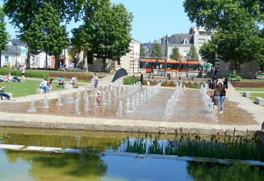 Excursion au parc Théodore Monod au Mans