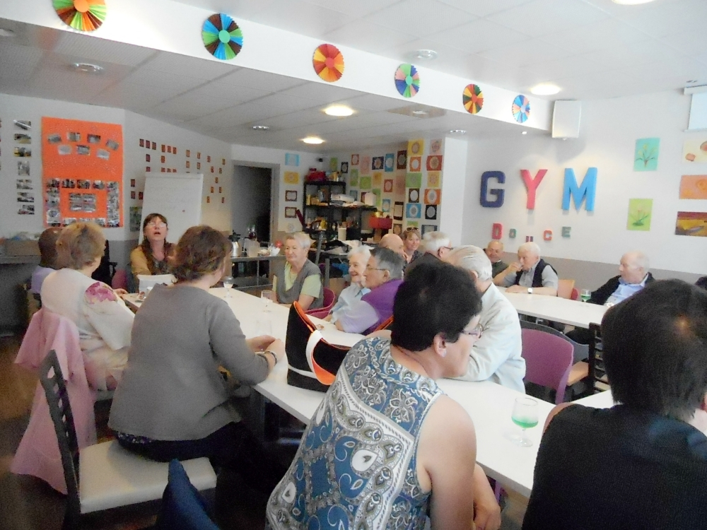 Club rencontre seniors paris