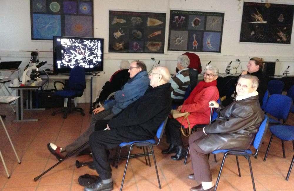 Espace & Vie Guidel à l'Observatoire du plancton