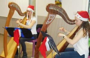 Trio de harpe aux Prairies de l'Ille