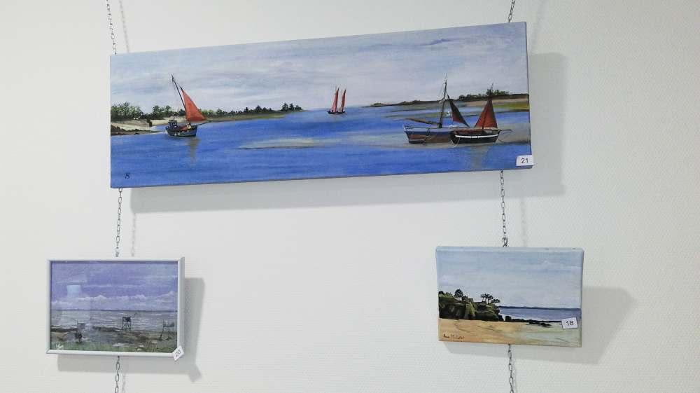 Exposition de peintures à Espace & Vie Pornic