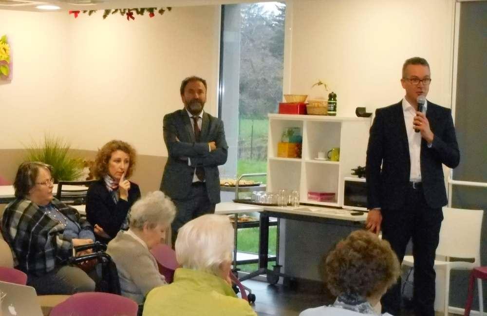La direction Espace & Vie présente ses vœux aux résidents et aux salariés du groupe
