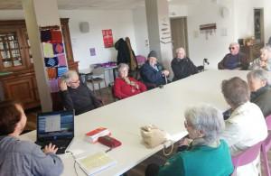 Séance de breton pour les résidents guidélois