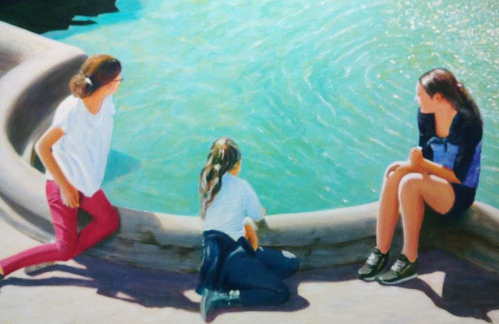Exposition de peinture de Patrice Blanchet au Galilée