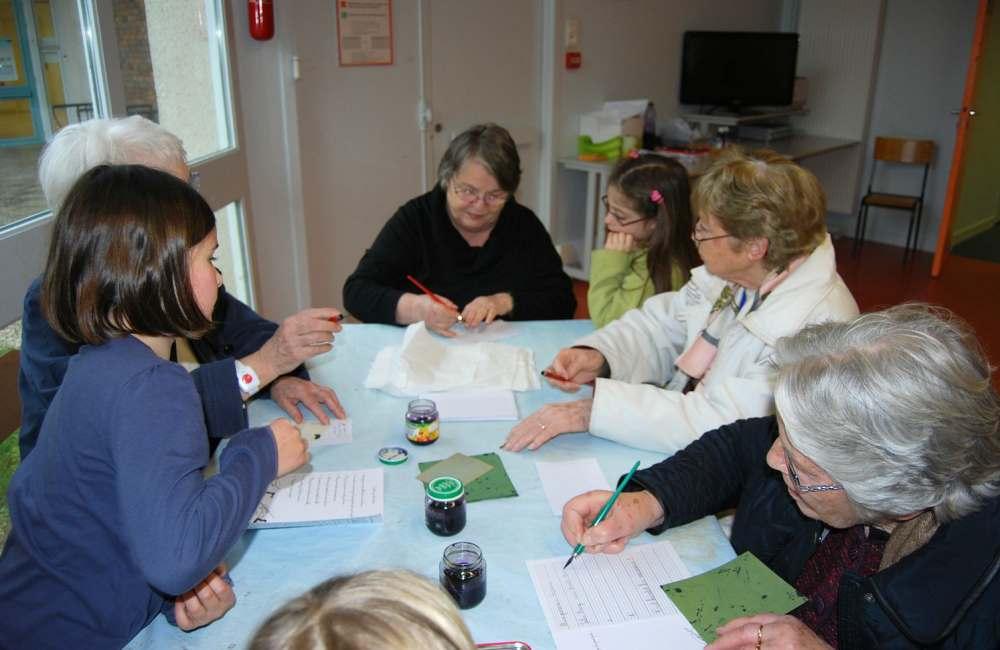 Les résidents rennais visitent l'école Jules Ferry