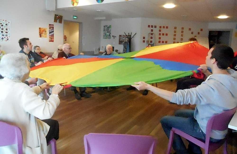 Semaine spéciale « activité physique » avec deux étudiants en STAPS