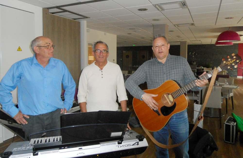 Concert avec l'association « les Trois Croches » à Guidel