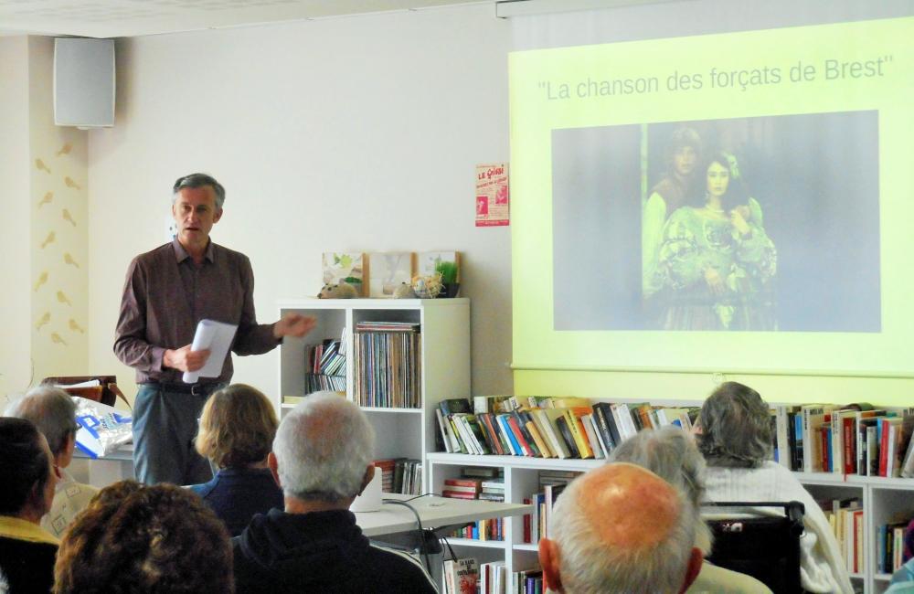 Conférence sur le bagne de Brest