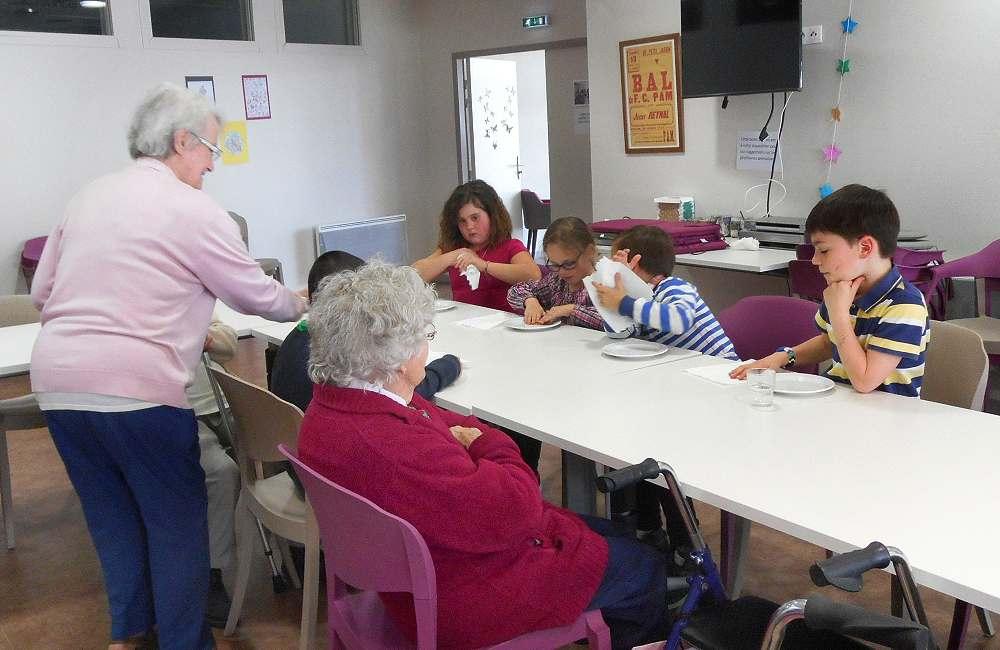 Dernière visite des élèves de La Pointe au Petit Jardin