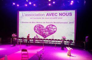 Des résidentes d'Espace & Vie Pornic à l'élection de Miss Maison de Retraite Morbihannaise 2016