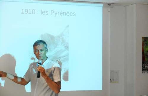 Conférence « Souvenirs du Tour de France » à Espace & Vie Guidel