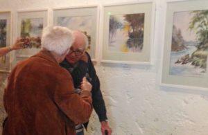 Les résidents d'Espace & Vie Guidel visitent l'art dans les chapelles