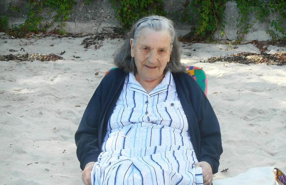 Sortie à la plage St Anne du Portzic pour les résidents du Petit Jardin