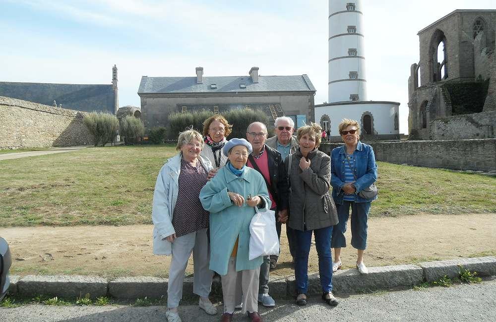 Sortie au port du Conquet et à la pointe St Mathieu pour les résidents du Petit Jardin