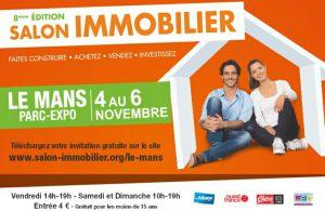 Retrouvez Espace & Vie au salon de l'Immobilier du Mans