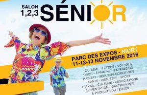 "Espace & Vie Niort au salon ""1-2-3 seniors"""