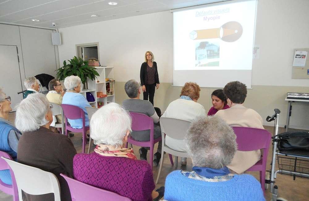 Conférence sur la vision à Espace & Vie Niort
