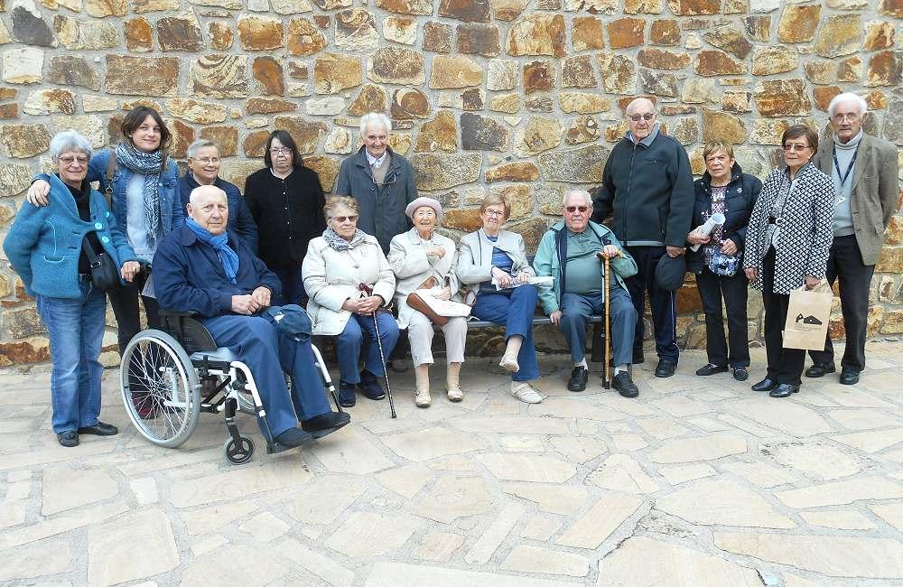 Les résidents de Guidel et Brest visitent l'exposition CHAGALL
