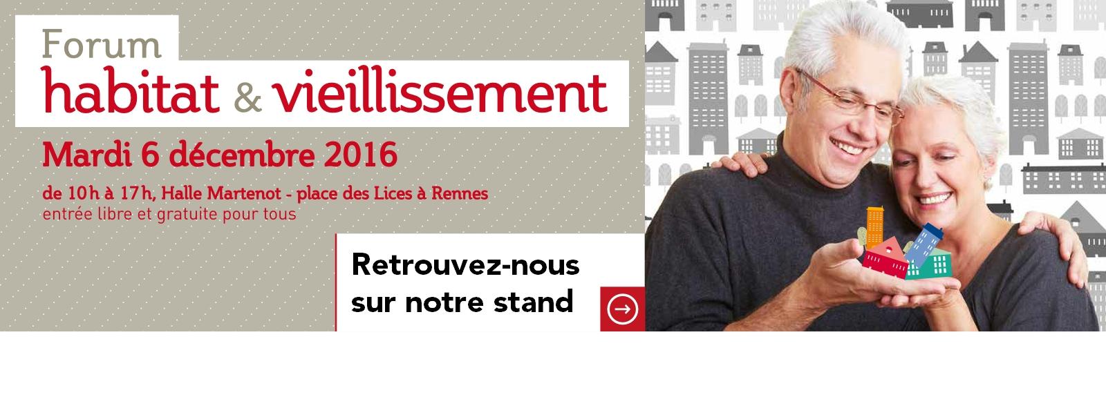 Espace & Vie au Forum Habitat et Vieillissement de Rennes