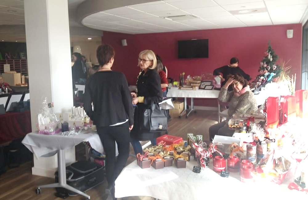 La résidence de Guidel prépare Noël avec son marché convivial
