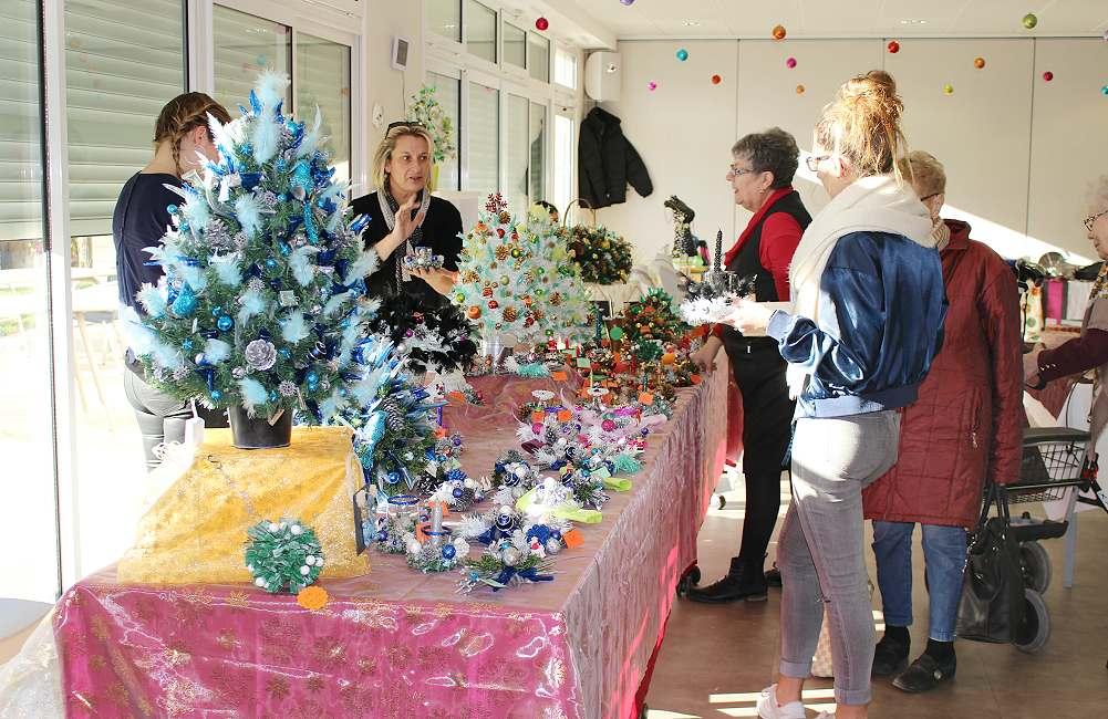Espace & Vie Niort fait son marché de Noël…