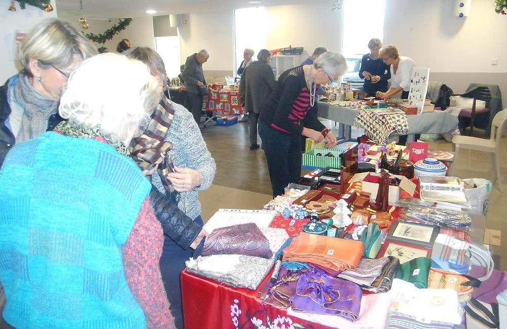 Marché de Noël aux Prairies de l'Ille