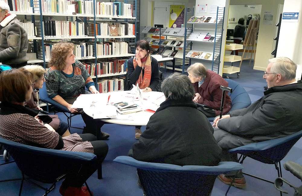 Rencontre littéraire pour les résidents de La Mabilais