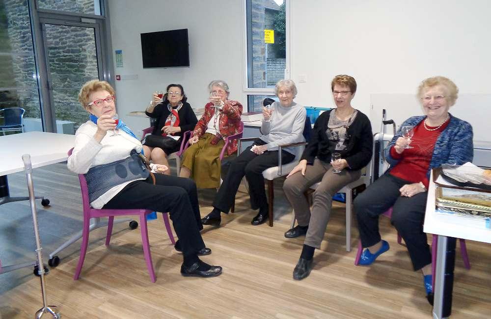 Pot d'accueil pour les nouveaux résidents d'Espace & Vie Rennes Mabilais