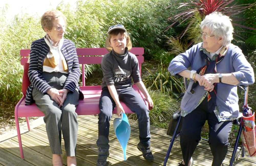 Le bonheur est dans le jardin à Brest