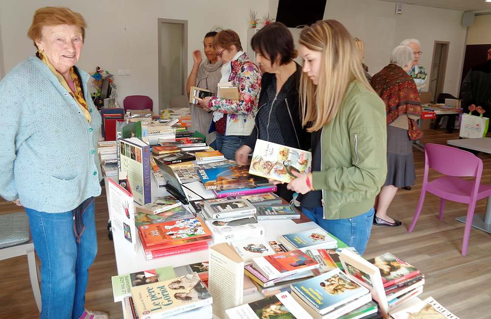 Espace et Vie Pornic organise son premier TROC' Livres