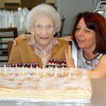 La doyenne de La Bellangerais a fêté ses 102 ans