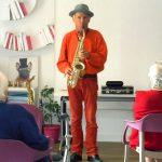 Ambiance jazz à Espace & Vie Guidel