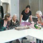Une centenaire à Espace & Vie Guidel