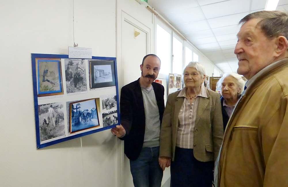 Vernissage de l'exposition « Des vies en images »