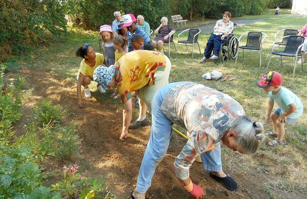 Un jardin pour tous les âges
