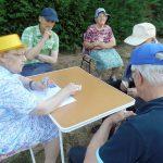 Pique-nique inter-établissements pour les seniors de Précigné