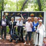 Les résidents d'Espace & Vie La Bellangerais à la découverte de La Gacilly