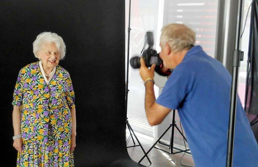 La Bellangerais prend des airs de studio photos