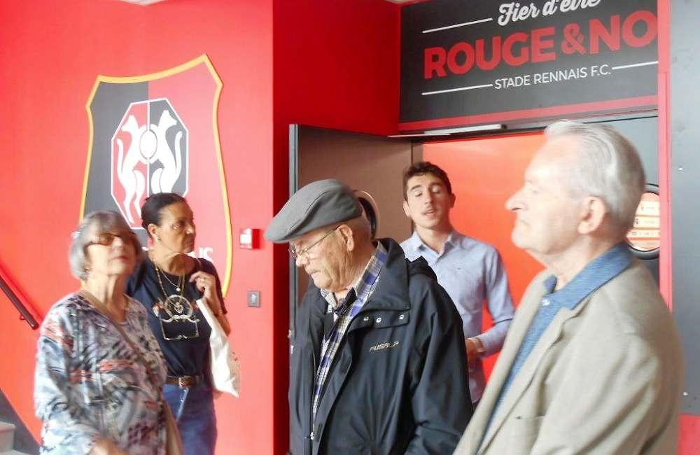 Les seniors d'Espace & Vie au cœur du Stade Roazhon Park de Rennes