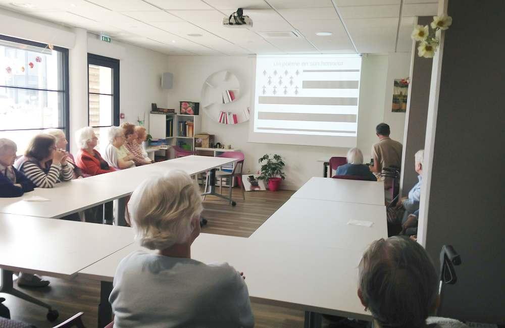 Conférence sur le patrimoine breton à Guidel
