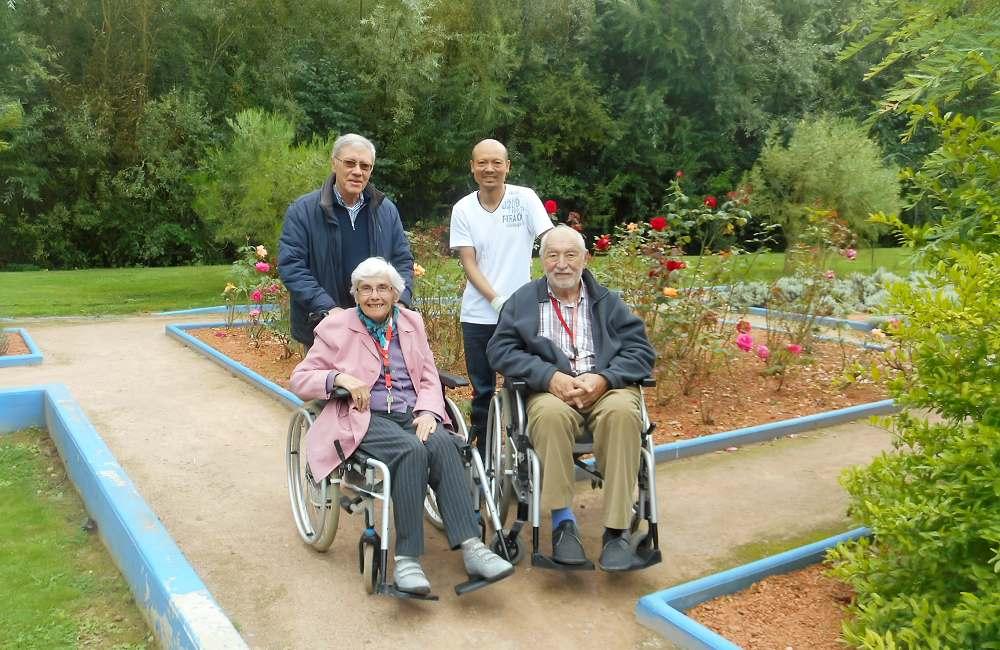 Un petit coin de paradis apprécié des seniors de la Bellangerais