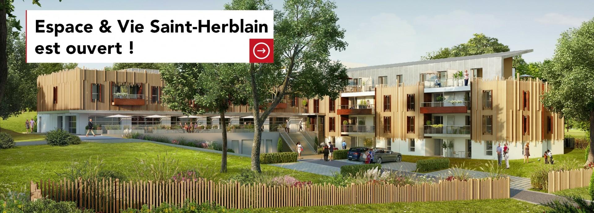 Espace & Vie Saint-Herblain est ouvert !