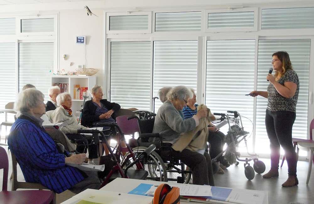 « Ateliers du Bien Vieillir » à Espace & Vie Niort