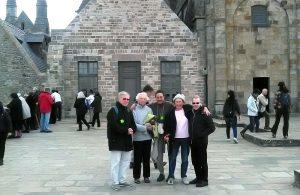 Balade au Mont Saint Michel pour les résidents de La Bellangerais