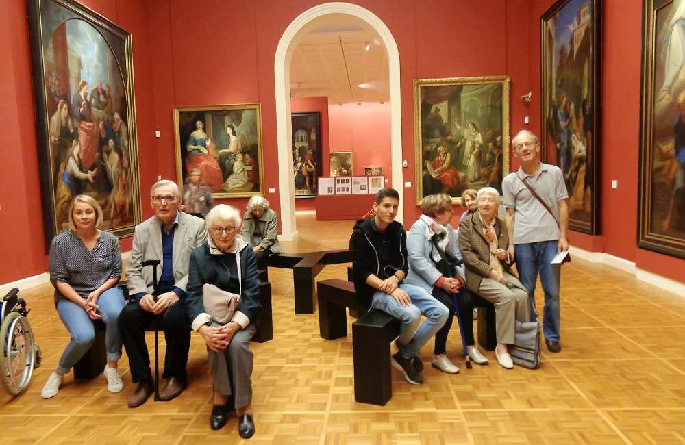 Les résidents de la Mabilais au Musée des Beaux-Arts de Rennes